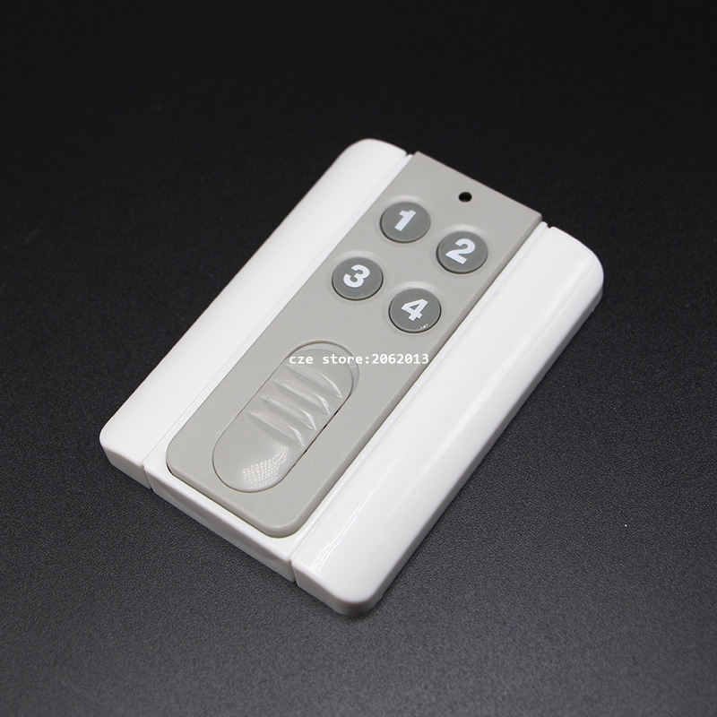 Touch Switch Remote 4 Button/12 Buttons Universal Type binge elec 16 buttons remote controller 433 92mhz only work as binge elec remote touch switch hot sale