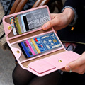 Credit card holders women purses candy color holder cover wallets for ID cards Artificial leather FP695325