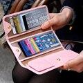 Titulares de cartão de crédito das mulheres bolsas doce cor titular capa carteiras para cartões de IDENTIFICAÇÃO do couro Artificial FP695325