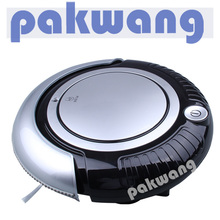 Robot Vacuum Cleaner With 3 cleaning route, HEPA fitler, big mop and one button turn on/off easy operation steam cleaner