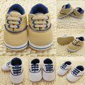 Bebê infantil suave Sole berço sapatos de tênis sapatos Prewalker 0 - 18 M
