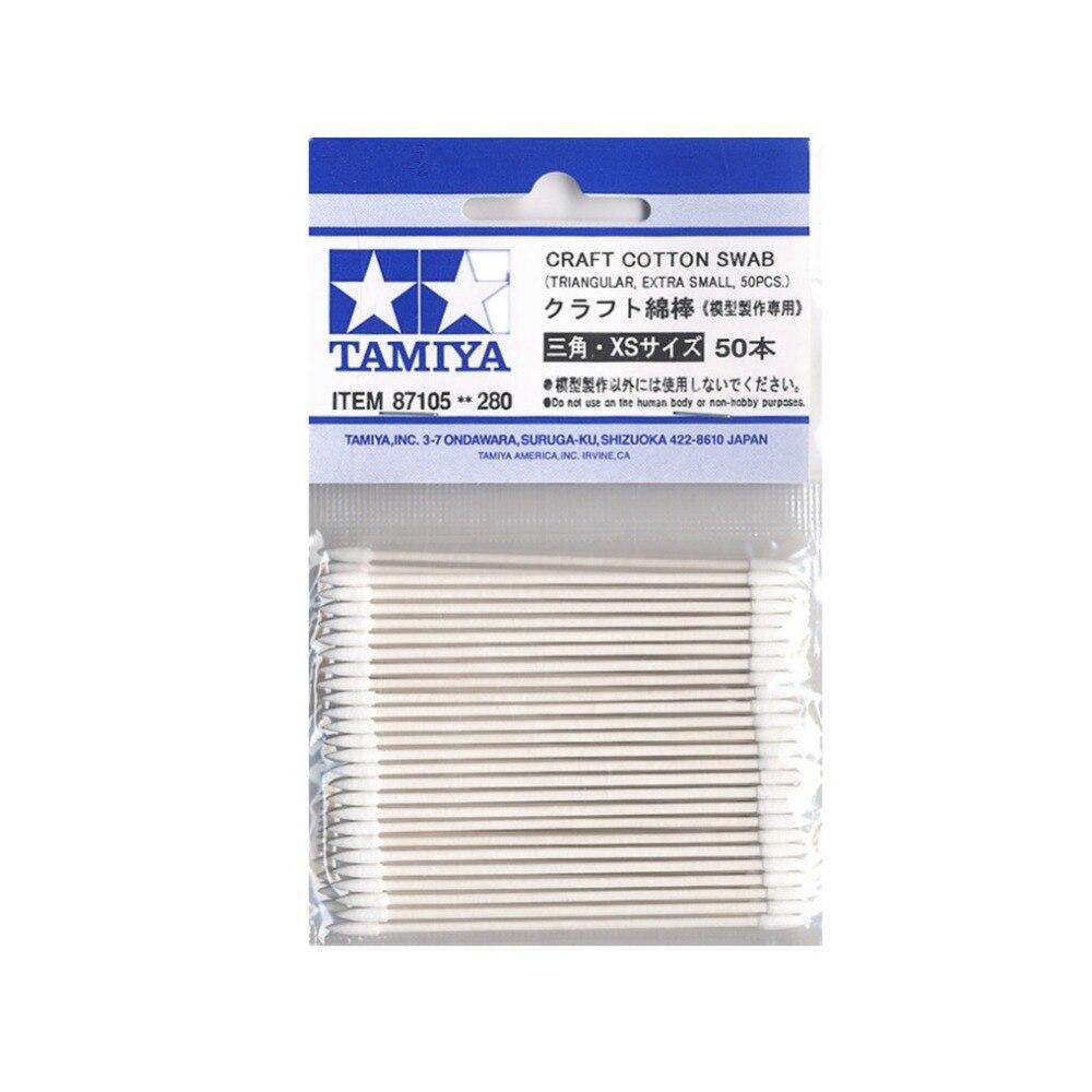 Round, Extra Small, 50pcs 87103 Tamiya Model Craft Tools Craft Cotton Swab