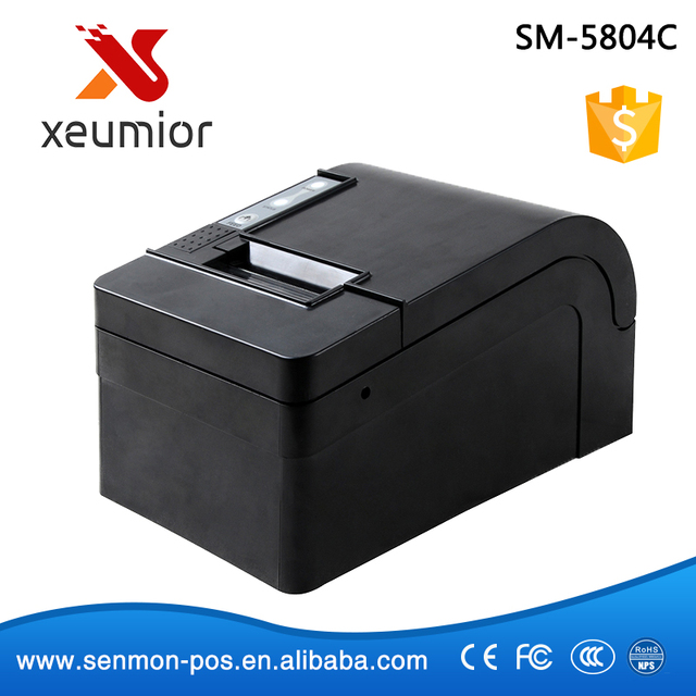 Cortador automático USB 58mm impresora térmica POS 58mm Impresora Térmica de Recibos Ethernet/Lan/Serie/Paralelo impresora portátil XP-58KC