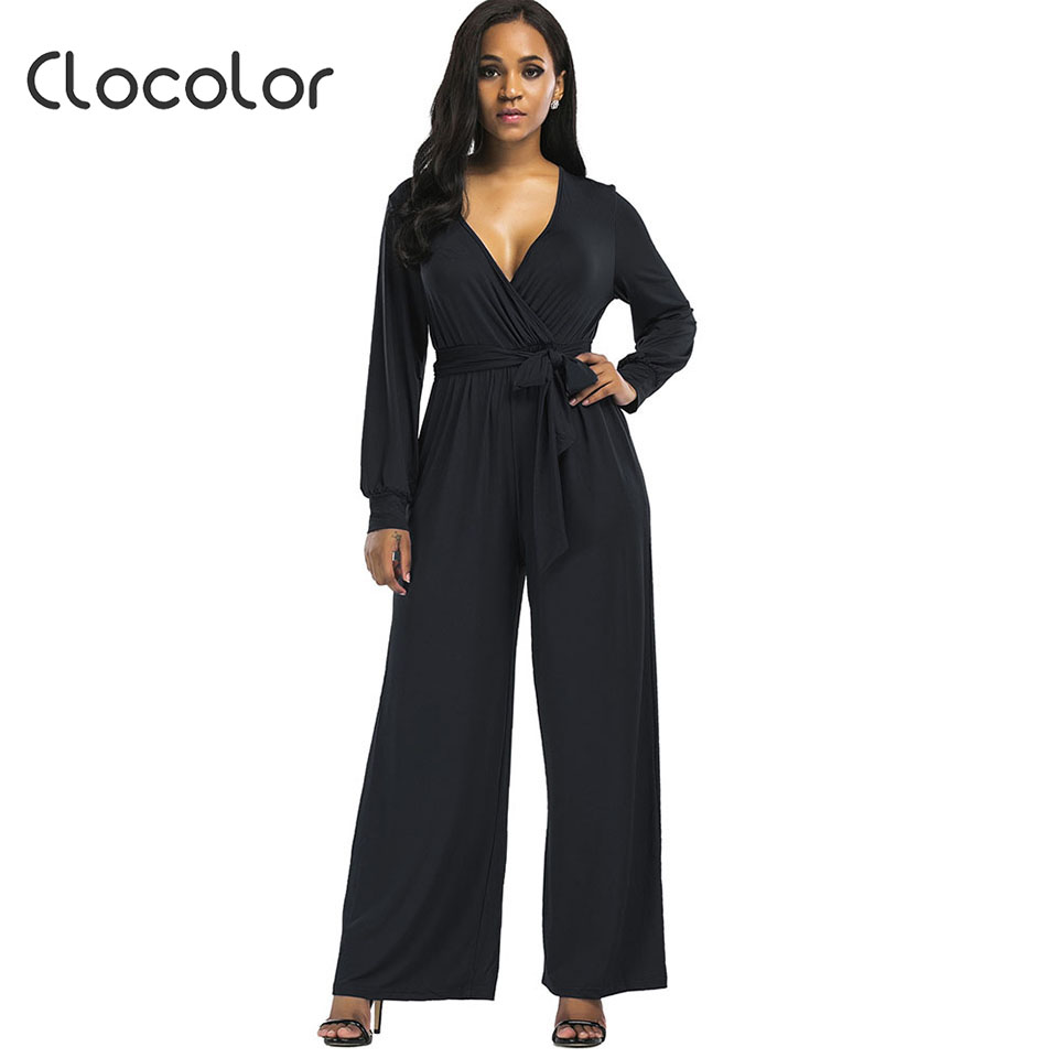 Aliexpresscom  Buy Clocolor Womens Jumpsuit Full Length -9760