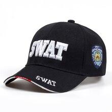 e80bf747c1090 2018 Tactical Cap Gorras de béisbol para hombre marca SWAT gorra SWAT  sombrero Snapback Gorras algodón ajustable sombrero del go.