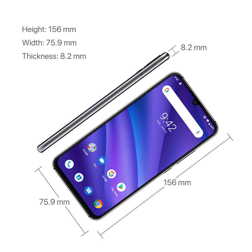 Универсальная версия UMIDIGI A5 PRO Android 9,0, четыре ядра, 6,3 'FHD + капля воды, 16 МП, тройная камера, 4150 мА/ч, 4 Гб ram, 4G, мобильный смартфон