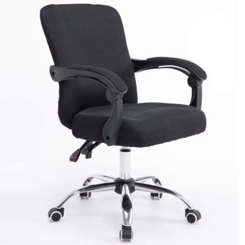 WB#3199 Computer cloth office chair household Internet gaming staff ergonomic lifting rotating seat can trip high quality mesh cloth office chair breathable soft cushion computer chair multifunctional adjustable headrest staff chair