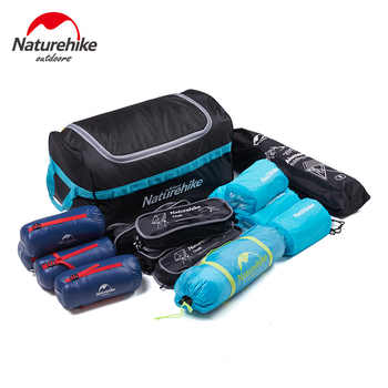 Naturehike Suitcase 110L wheeled duffle Collapsible storage bag outdoor travel tent camping equipment large portable debris bag