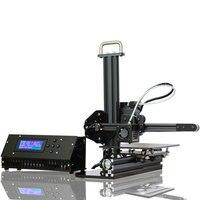 Tronxy X1 Desktop 3D принтеры GUN METAL Великобритания PLUG Поддержка SD карты Off line печать ЖК дисплей Дисплей Высокая точность 0,1 0,4 мм