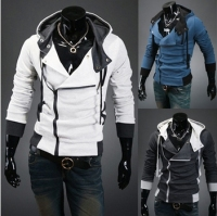 HOT Free delivery of 2013 new styles Men's Autumn and winter cardigan Korean men's Hoodie Jacket