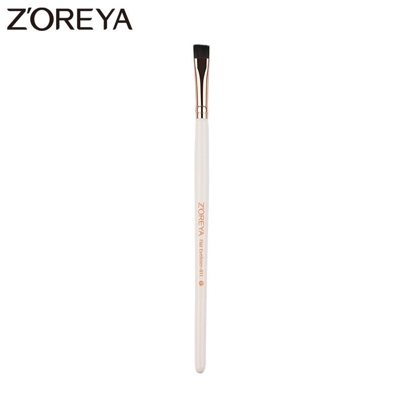 Zoreya Brand New arrive Professional brush Eyeliner eyebrow Brush makeup brush tool  eyeliner brushes Free shipping zoreya 18pcs makeup brushes professional