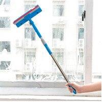 창 유리 청소 브러시 양면 닦아 유리 청소 브러시 닦아 창 청소 도구를 스트레칭 핸들을 청소|glass cleaning brush|window glass cleaningcleaning brush -