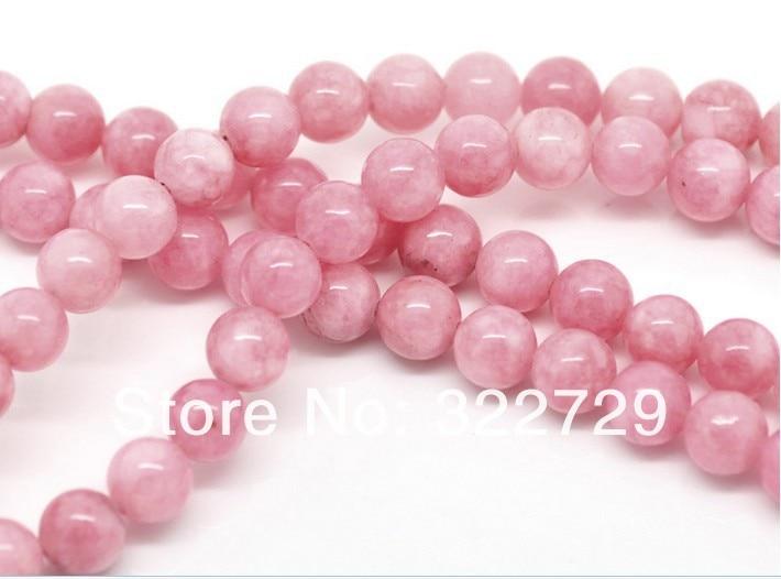 Pink Natural Stone Beads
