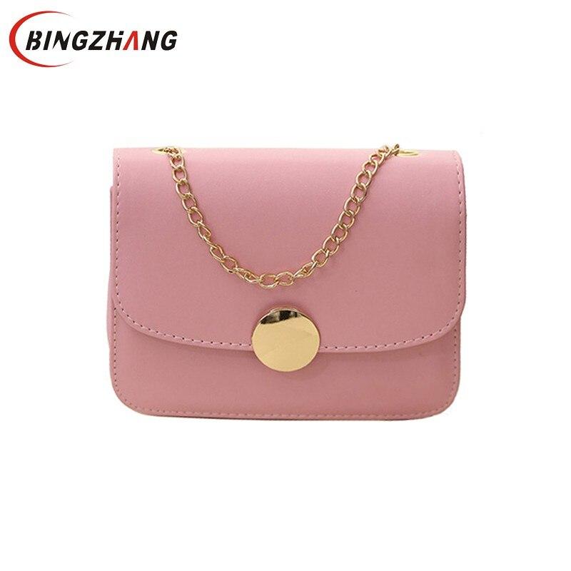 Small Woman Bag Shoulder Solid Lady Flap Designer Handbags Hasp Girls Fashion Brand Women Black Bags Bolsa Feminina L4-3102