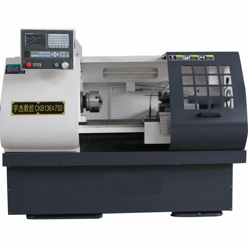 750mm Hard Guide CNC Lathe CK6136 * 750
