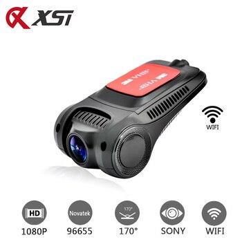 XST Novatek 96655 IMX 322 Full HD 1080P Car DVR WIFI Dash Camera Car Camera Dash Cam Video Recorder Night Vision G-sensor