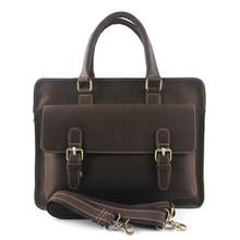 Designer Handbags High Quality Men Handbags Genuine Leather Trunk Vintage Messenger Bags Travel Business Laptop Retro