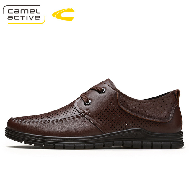 Camel Active Black Genuine Leather Loafers With Tassels Men s Moccasins  Casual Shoes Business Shoes Wedding Dress Shoes Man Flat 94ad466d1e93