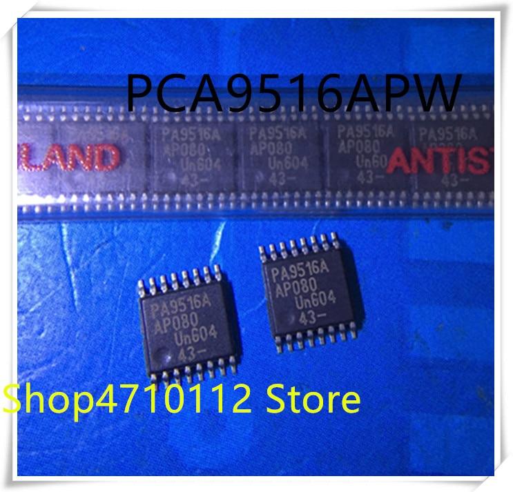 NEW 10PCS LOT PCA9516APW PCA9516A PCA9516 MARKING PA9516A TSSOP IC