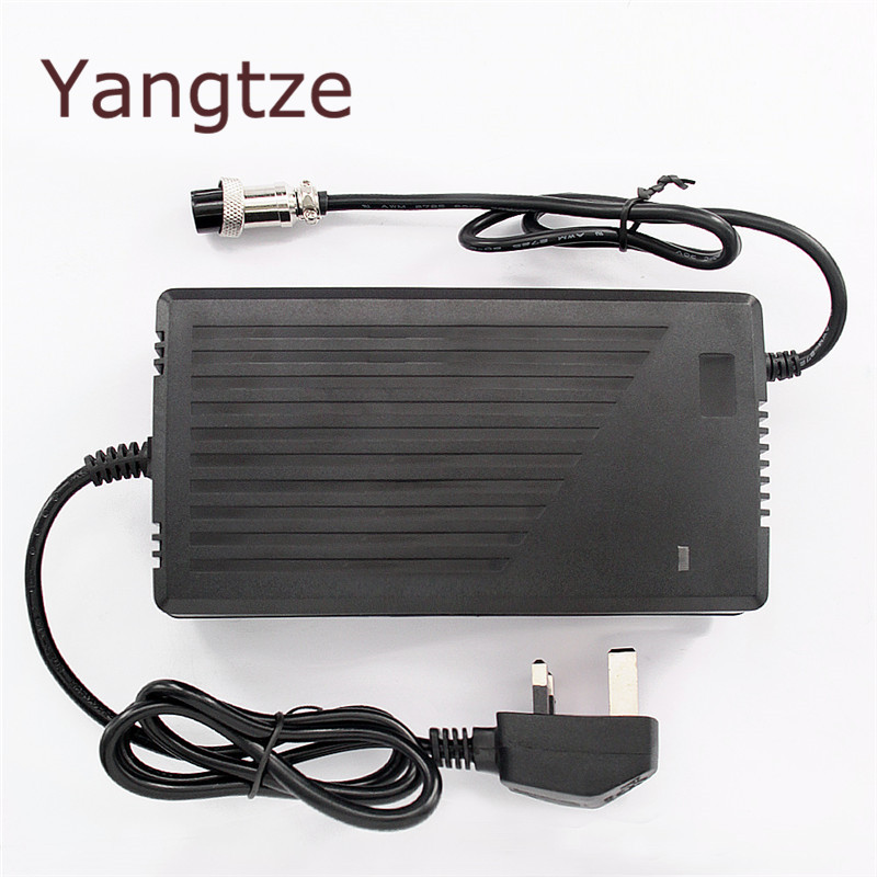 Chargers Yangtze 5pcs 12.6v 12a 11a 10a 9a Lithium Li-ion Battery Charger For 12v Lipo Bike Power Tool Scooter E-bike Battery Pack