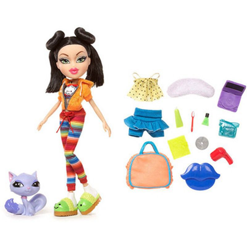 Fashion Action Figure Original Bratz Study Abroad Jade Doll Dress Up Doll Best Gift For Kid Baby Gift