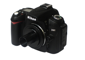 Image 3 - T2 Lens Adapter Mount Ring for Nikon DSLR Camera D800 D3100 D3200 D5200 D7000 D90 +1.25 inch Telescope Mount Adapter