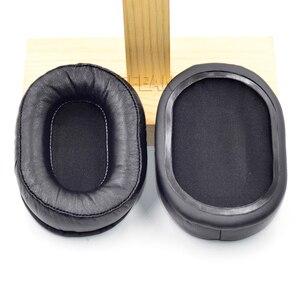 Image 2 - Defean Genuine Leather ear pads cushion for Audio Technica ATH MSR7 MSR 7 Headphones