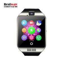 Bluetooth Smart Watch Wasserdicht Apro Smartwatch Unterstützung NFC Sim-karte Kamera Für Iphone Samsung Android-Handy Twitter Facebook