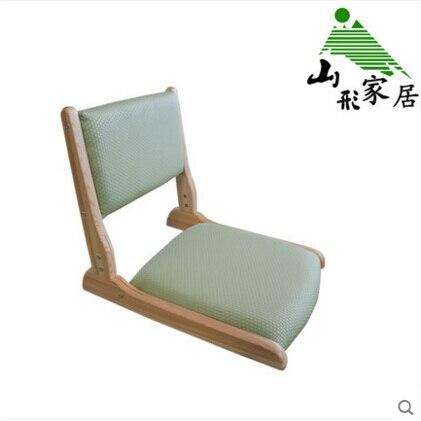 Japonés Patas Sin Maciza De 2 Silla Plegable Tatami Madera wPX0n8Ok