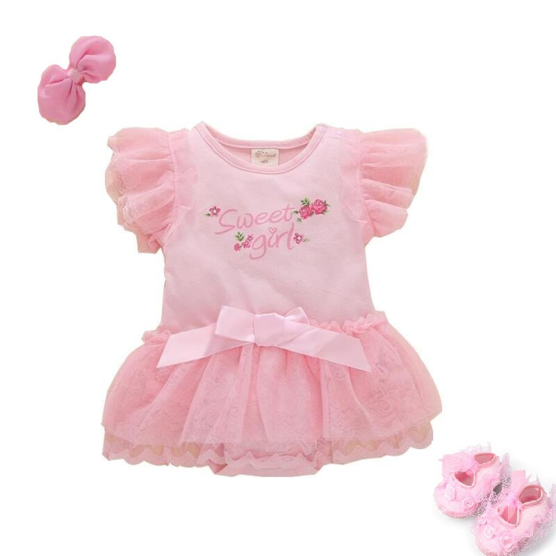 1bed353ff5d 2018 New Lace Baby Girl Dress 3M-9M 1 Years Baby Girls Birthday Dresses  Vestido birthday party princess dress clothing bebes