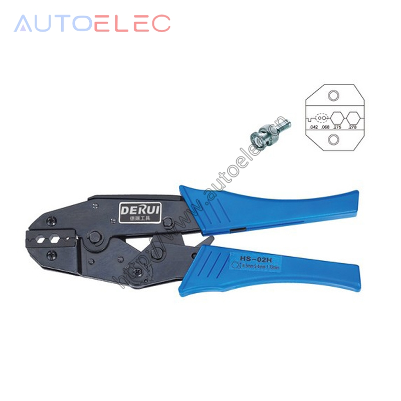 HS-02H EUROP STYLE RATCHET crimping tool for coaxial cable crimping plier multi tool too ...