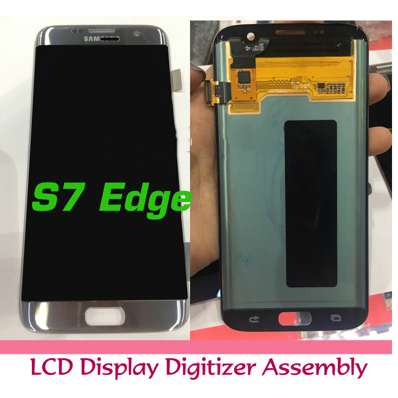 Original LCD for samsung galaxy s7 edge lcd display touch screen digitizer assembly Free shipping factory price lcd screen for samsung galaxy s6 edge lcd display touch screen digitizer g925f g925s g925p g925a free shipping
