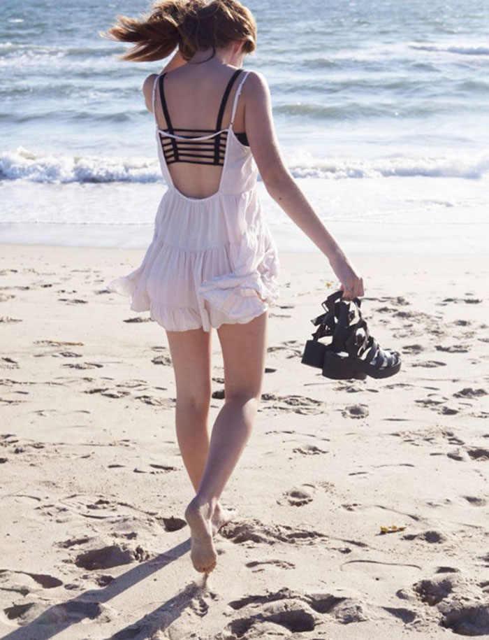 Sexy Crop topy stałe kobiety pasek kamizelka wyciąć koszula lato plaża Tank czarny biustonosz bez rękawów gorset podstawowe najniższy moda