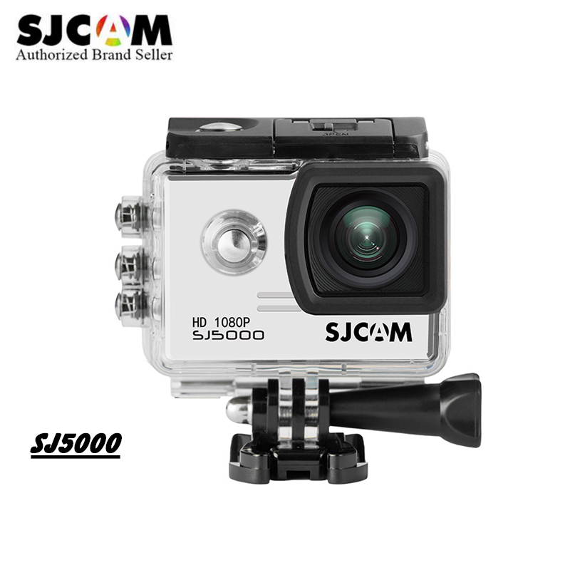 Original SJCAM SJ5000 Action Sport Camera Notavek 96655 1080P full HD Waterproof Camera mini DV Helmet Camcoder With Accessories sjcam sjcam sj5000 wifi 96655 full hd 1080p