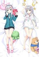 Japońskie anime Eromanga Sensei izumi sagiri poszewka na poduszkę poszewka na poduszkę poszewka na poduszkę Dakimakura w Poszewka na poduszkę od Dom i ogród na