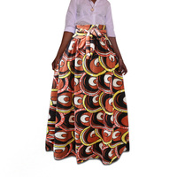 dashiki printed skirt dresses fashion african clothes fitness robe africaine africa clothing casual african dresses for women