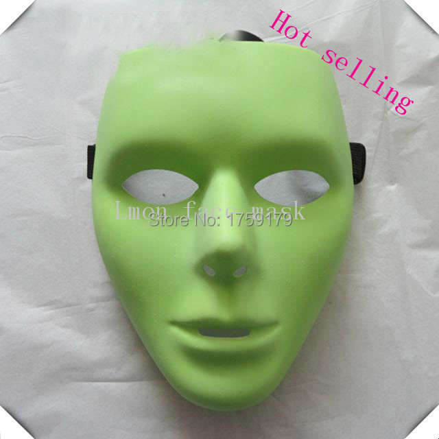 Hot-sale Horror ADULT MEN Drama COSTUME Face Masks For Halloween Party Dance 2 Colors