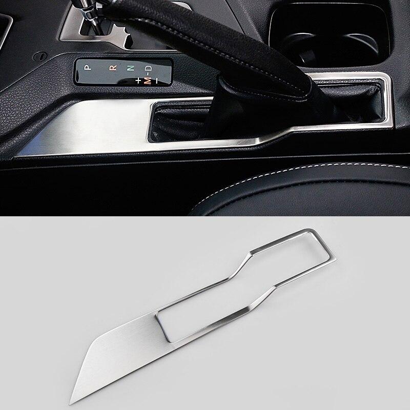 2016 font b Car b font Styling Stainless Steel Handbrake Sequined Internal Decoration For Toyota RAV4