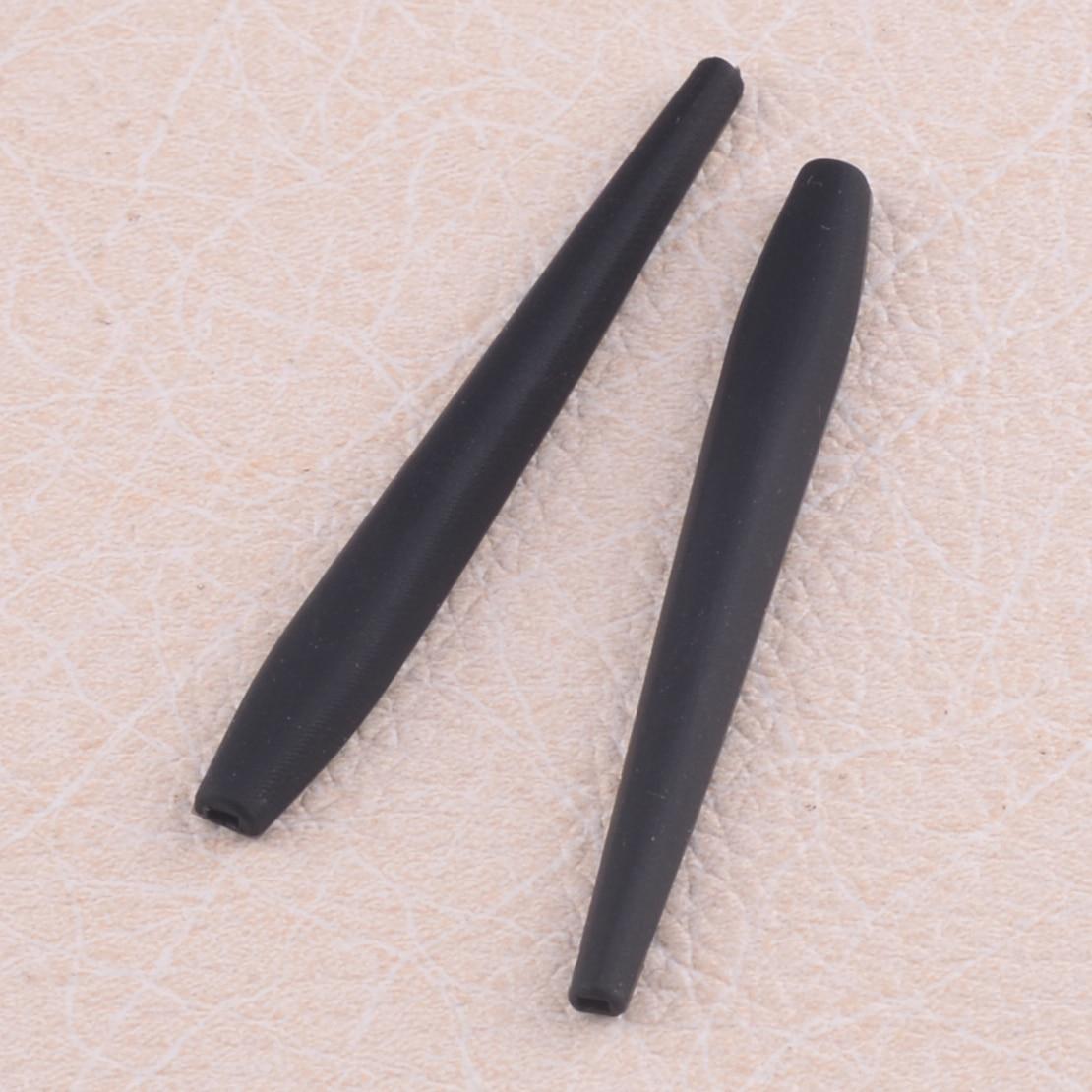 LETAOSK Black Rubber Sunglasses Ear Sock Anti-slip Fit For Oakley CROSSHAIR 2.0 OO4044