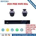 SOCOTECH 4CH POE NVR Kit 1080 P CCTV PoE NVR 4 PCS 1.3MP 2.0MP IP66 P2P IP IR Camera Kit Sistema de Vigilância de Segurança Em Casa