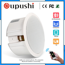 Bluetooth Ceiling Speaker  home background music systems; stores; a special background music system for beauty salons
