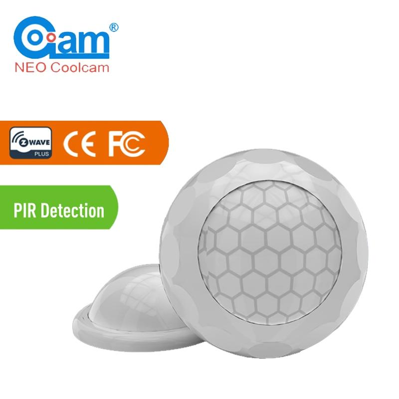 NEO COOLCAM NAS-PD02Z Z-wave Plus PIR Motion Sensor Detector Home Automation Power Operated Z Wave Alarm System Motion Sensor