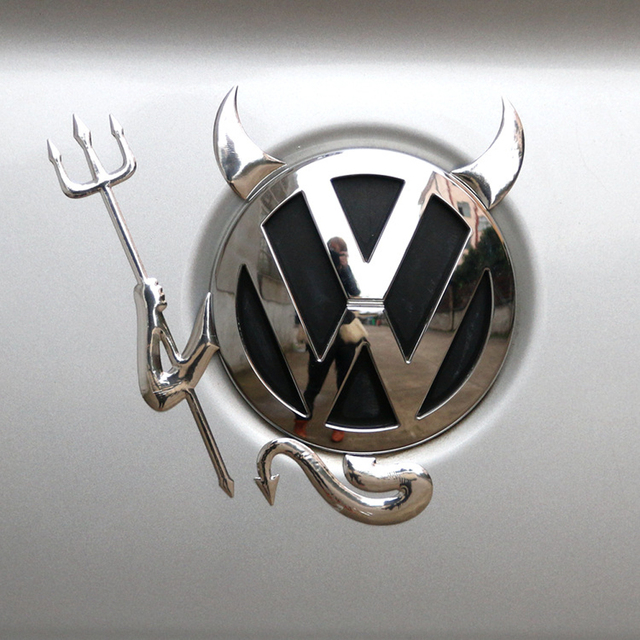 car styling Funny stickers and decals FOR Volkswagen POLO passat b5 b6 b7 t4 t5 golf