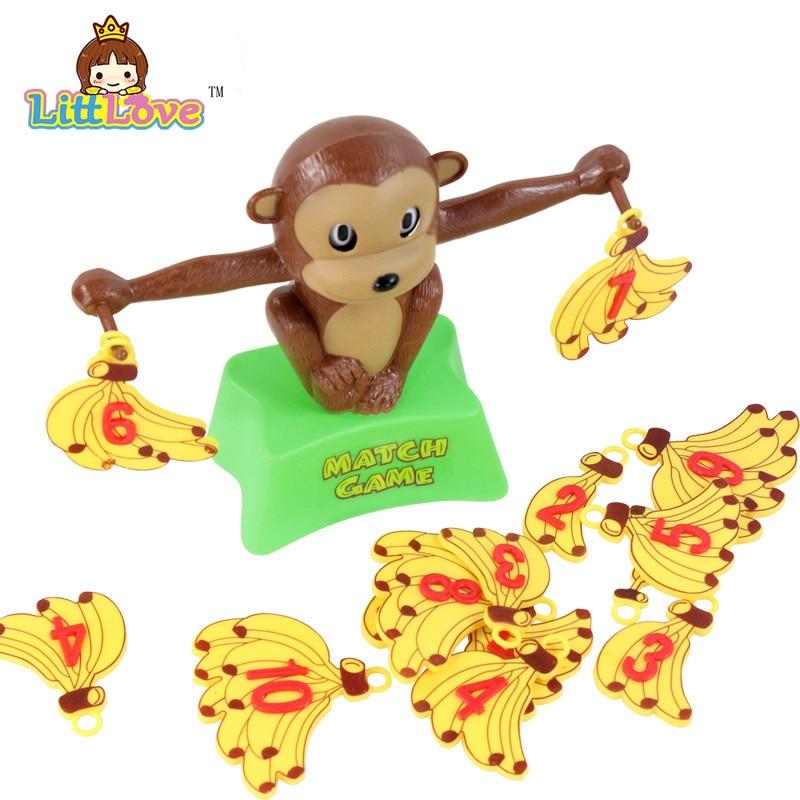 LittLove Funny Cute Monkey Bananas Сандар балансы Оқу - Білім беру және оқыту - фото 2