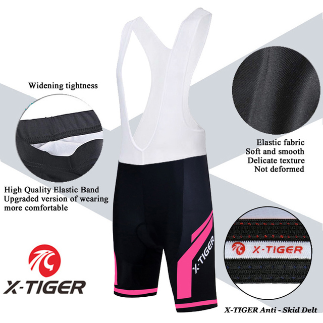 X-tiger conjunto de camisa de ciclismo feminino verão anti-uv ciclismo bicicleta roupas de secagem rápida mountain bike ciclismo conjunto 5