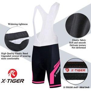 Image 4 - X tiger femmes cyclisme maillot ensemble été Anti UV cyclisme vélo vélo vêtements à séchage rapide VTT vêtements cyclisme ensemble