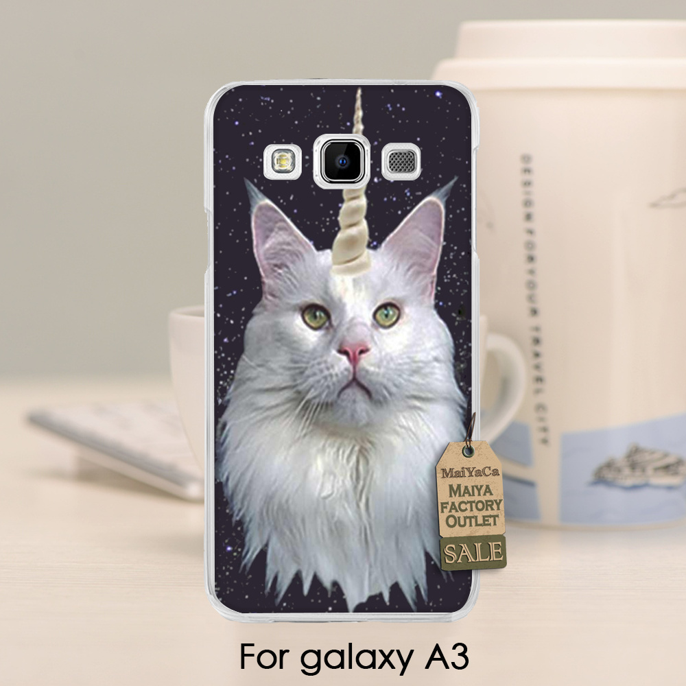 Encantador Accesorios Del Teléfono de Plástico Duro Caso Para caso Unicornio en