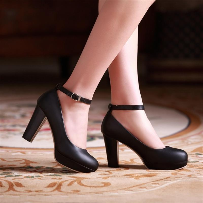 Aliexpress.com : Buy Women&39s high heeled shoes pumps Ankle strap
