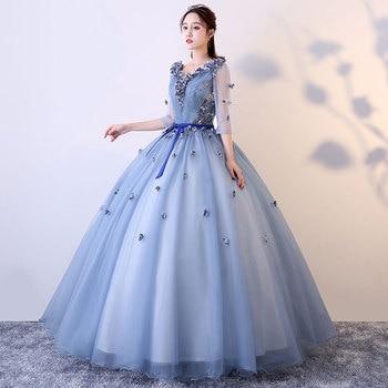 0ae50be0d Baratos de la princesa vestidos Quinceanera dulce 16 vestidos para 15 años  baile vestido de Quinceanera