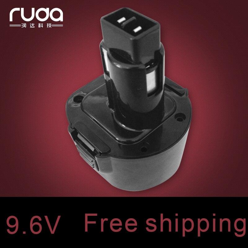 for Dewalt 9.6V 2.0Ah power tool battery Ni cd DE9062/DE9036/ DE9061/DE9071/DW9061/ DW926/DW926K/DW926K-2/DW955K-2/DW955K/DW926K